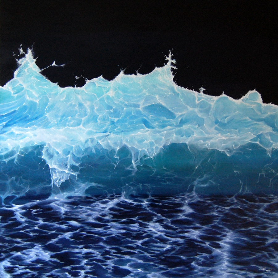 THE WAVE - eppart.de - Acrylic painting on canvas
