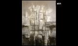 Abstrakte Kunst von Bernd Eppler, Acrylmalerei, Spachteltechnik, Strukturwerk, eppart.de